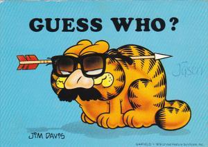 Jim Davis Garfield Guess Whoo