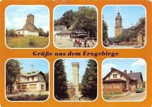 Germany Erzgebirge Baerenstein Gaststatte Berghotel Baerenstein Annaberg