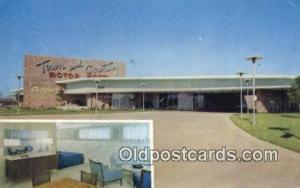 Town and Country Motor Motel, East Shreveport, Louisiana, LA USA Hotel Postca...