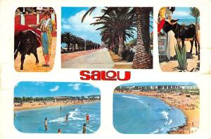 Spain Salou different aspects, corrida, toreador, donkey, playa