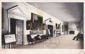 Pennsylvania Philadelphia Sanquet Room Independence Hall 1912