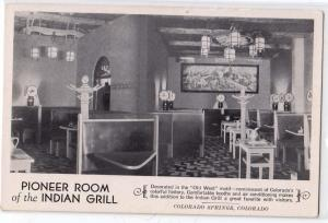 Pioneer Roam & Indian Grill, Colorado Springs CO