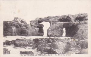 France St Palais-sur-Mer Le Pont du Diable 1931