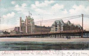 New Jersey Atlantic City The Marlborough-Blenheim Hotel 1907