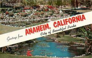 CA, Anaheim, California, City of Beautiful Parks, La Palma, Lot of 2