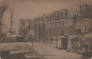 Palace Ruins, Dunfermline, Scotland, Early Postcard, Used in 1922