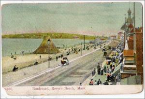 Boulevard, Revere Beach MA