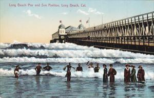 California Long Beach Long Beach Pier and Sun Pavilion
