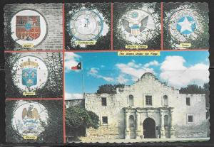 Texas, San Antonio, Alamo, multiview, unused