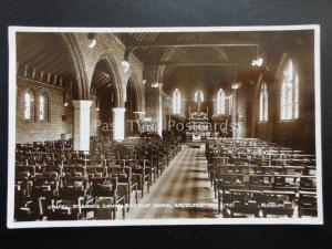 BRIDLINGTON St Annes Convalescent Home THE CHAPEL - Old RP Postcard by Valentine