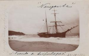 RP: ALGERIA , 1917 ; Shipwreck of the Nauegante