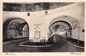 Hamburg Elbtunnel Road Tunnel