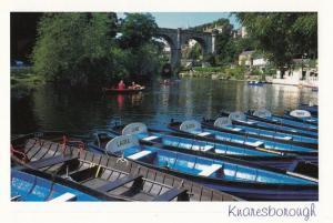 Knaresborough Yorkshire Boats Of A Girls Name Laura Jane Louise Owen Postcard