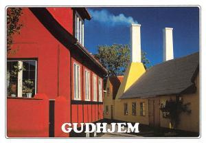 Denmark Bornholm Gudhjem hvis lys altid har tiltrukket kunstnere