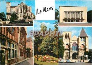 Modern Postcard Le Mans