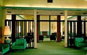 California Pacific Grove Canterbury Woods Retirement Community Main Lounge