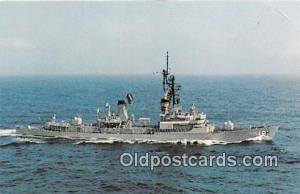 Guided Missile Destroyer Postcard Post Card USS Semmes DDG18