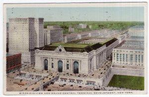 Birds-Eye-View New Grand Central Terminal Development, New York