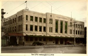 New Zealand - Invercargill, 1938. New General Post Office  *RPPC