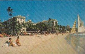 Hawaii Honolulu Moana Hotel 1969