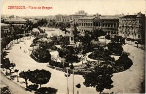 CPA Zaragoza Plaza de Aragon SPAIN (744089)