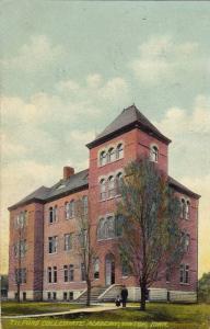 Exterior, Tilford Collegiate Academy,Vinton,Iowa,PU-1908