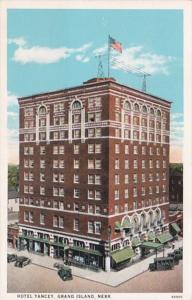 Nebraska Grand Island Hotel Yancey Curteich