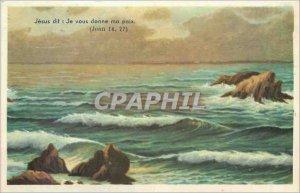 Old Postcard GREETINGS