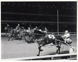 ROOSEVELT RACEWAY, Harness Horse Racing, LITTLE LADY O. wins