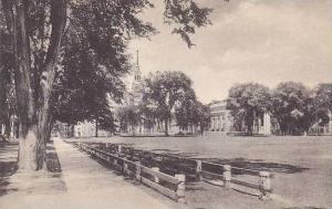 New Hampshire Hanover Senior Fence Campus From College Hall Dartmouth College...