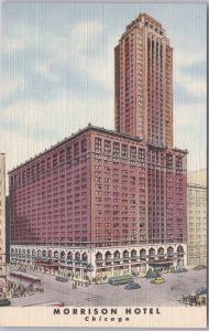 Chicago, Ill, Morrison Hotel, Clark & Madison Streets -