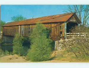 Unused Pre-1980 COVERED BRIDGE Swanzey New Hampshire NH t7511@