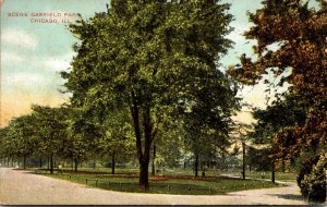 Illinois Chicago Scene In Garfield Park 1916
