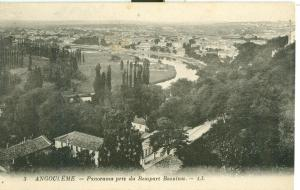 Angouleme, Panorama pris du Rempart Beaulieu