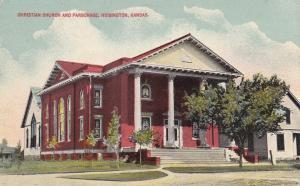 HOISINGTON, Kansas; 00-10s; Christian Church and Parsonage
