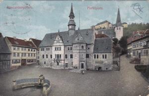 BLANKENBURG-HARZ (Saxony-Anhalt), Germany, PU-1908; Marktplatz