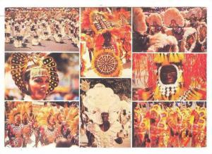 Yearly invasion of Panay Island by 12 Bornean Datus, festival, AKLAN , Philip...