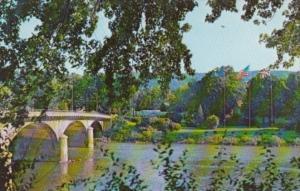 Bridge Over Allegheny River At Warren Pennsylvania