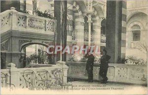 Old Postcard Our Sites Spa Le Mont Dore Interior of the Etablissement Thermal