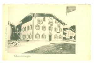 3-Story House, Oberammergau (Bavaria), Germany, 1900-1910s