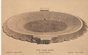 NEW HAVEN , Connecticut, 1916 ; YALE bowl Stadium