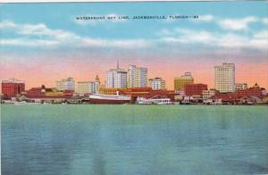 Florida Jacksonville The Waterfront Sky Line