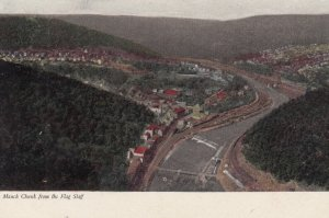 MAUCH CHUNK, Pennsylvania , 00-10s ; From the Flag Staff