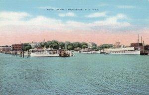 CHARLESTON, South Carolina, 30-40s; Yacht Basin
