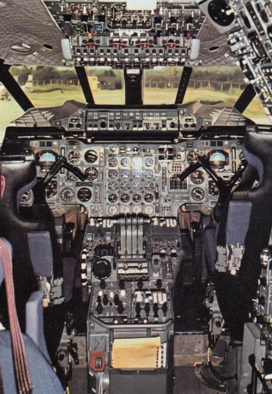 Flight Deck , CONCORDE Airplane , 1990-2000s