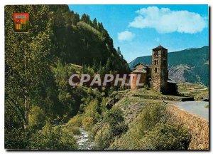 Postcard Modern Valls d'Andorra