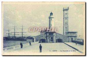 Old Postcard Lighthouse This La Tourette and the Mole