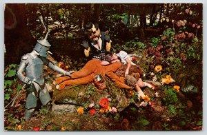 Banner Elk NC~Beech Mountain Land Wizard of Oz Characters in Poppy Fields~1960s