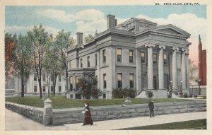 ERIE , Pennsylvania, 1900-10s ; Erie Club