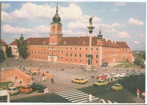 Poland, Warsaw, Warszawa, Plac Zamkowy, Zamek Krolewski, unused Postcard